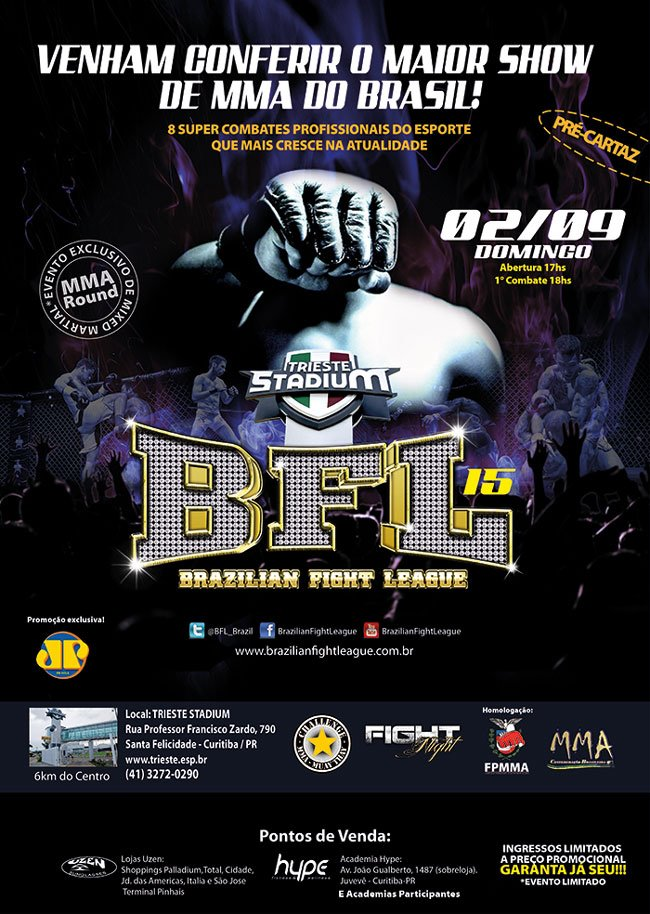 Brazilian Fight League 15