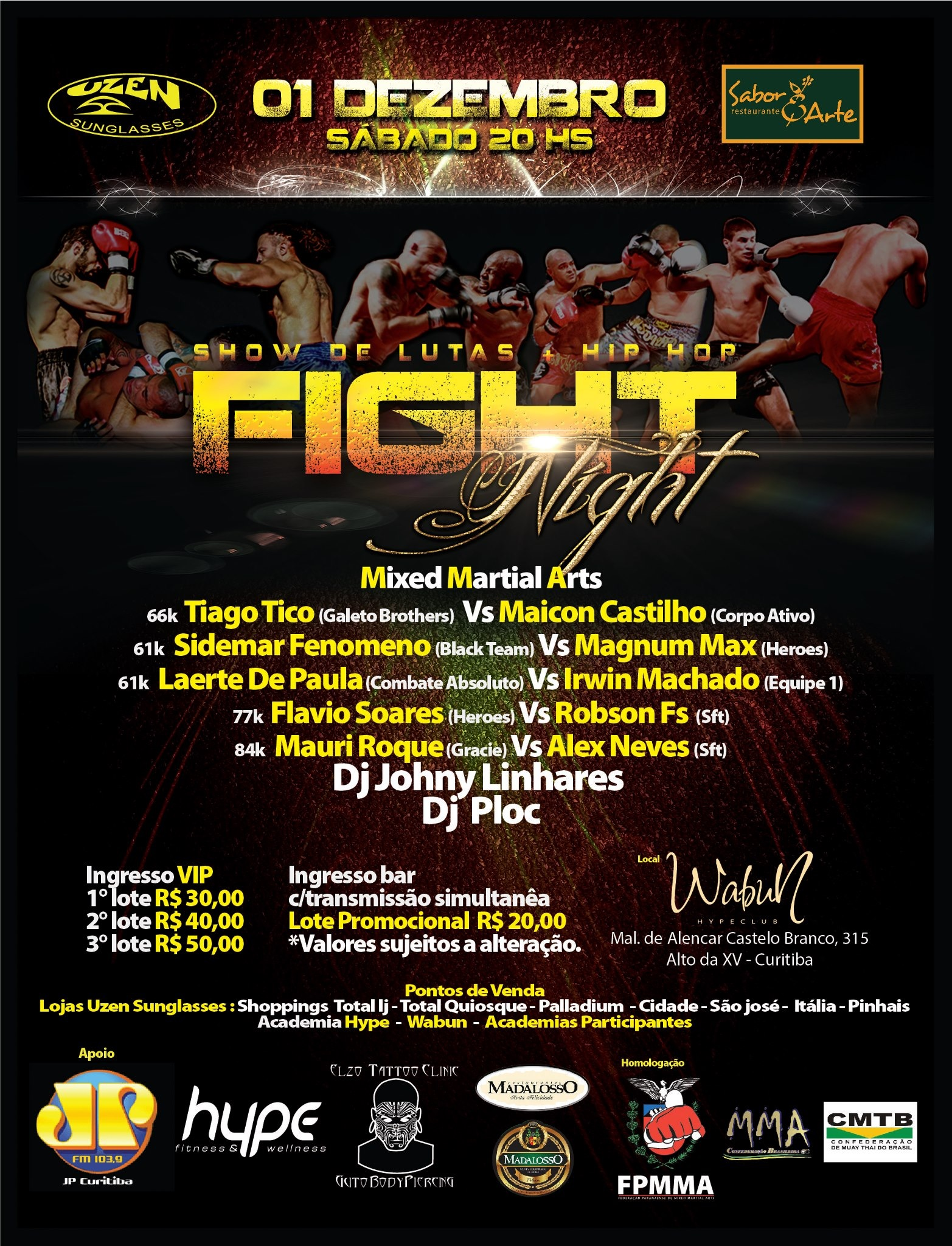 BFL Fight Night
